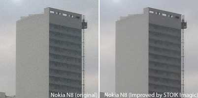 Nokia N8 camera noise fixed with STOIK Imagic