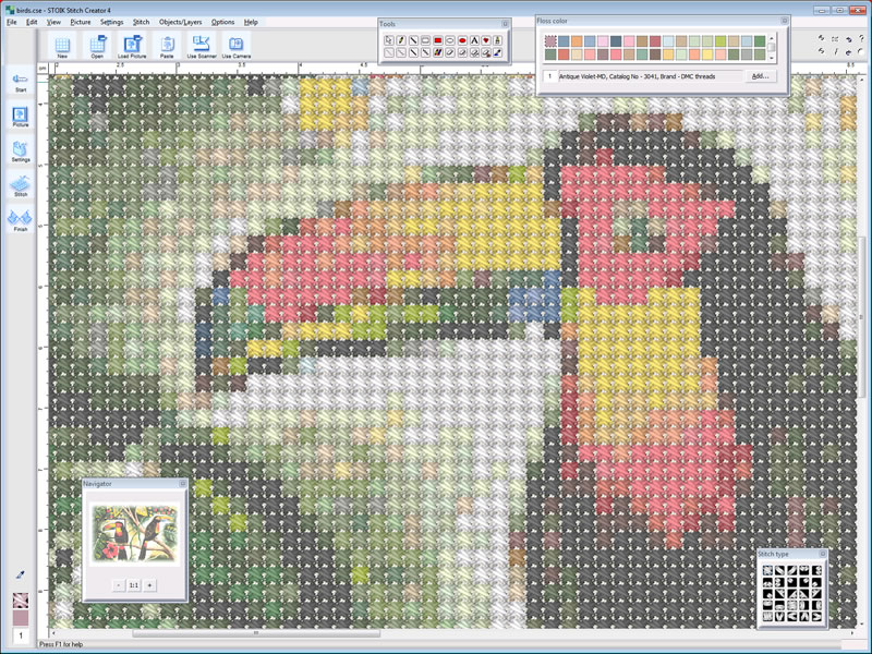 STOIK Stitch Creator screenshot