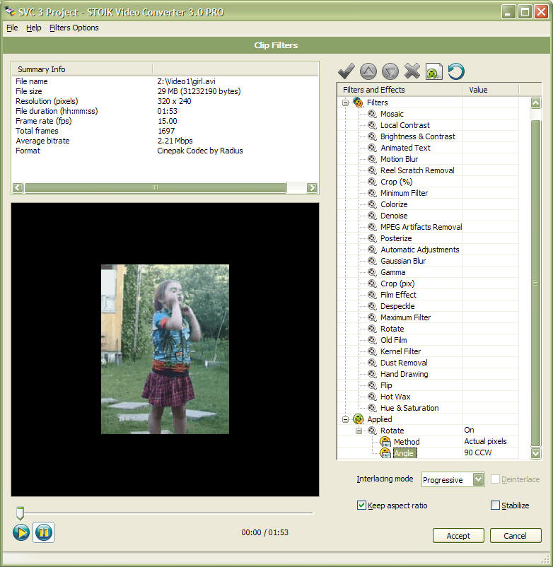 STOIK Video Converter Screenshot