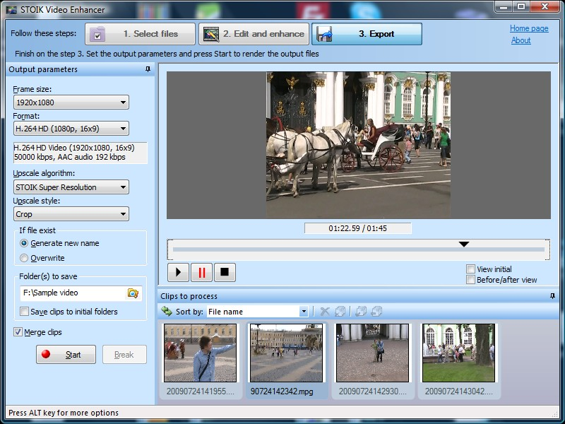 STOIK Video Suite Screenshot