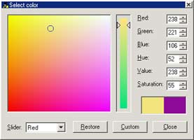 STOIK PictureMan - select color