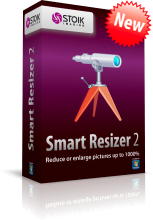 STOIK Smart Resizer Improves Enlargement of Artificial and Natural Scenes